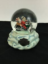 "Harley Davidson Limited Edition Snow Globe 1999 ""Riding the Skies"""