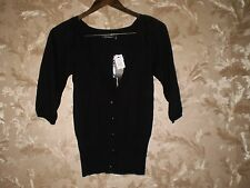 """Blouse ''Atmosphere""""Black Size:8 ( UK ) Eur 36 New With Tags"""