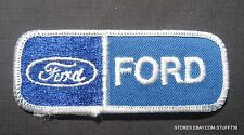 FORD EMBROIDERED SEW ON PATCH LOGO AUTO CAR FOCUS FIESTA MUSTANG 3 1/2 x 1 1/2""