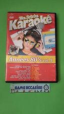 MES SOIREES KARAOKE ANNEES 80 'S VOL. 5  / DVD VIDEO PAL