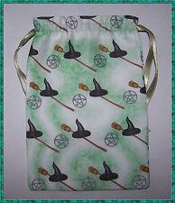 Cappello Da Strega & SCOPA TAROCCHI borsa, ideale per la maggior parte Fata Angel & Wicca Tarocchi