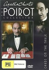 CARDS ON THE TABLE DVD THE POIROT COLLECTION - AGATHA CHRISTIE