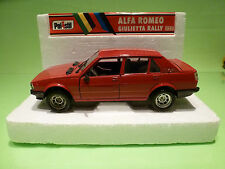 POLISTIL S601 ALFA ROMEO GIULIETTA  1:24 - RARE SELTEN - VERY GOOD CONDITION