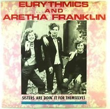 """12"""" Maxi - Eurythmics - Sisters Are Doin' It For Themselves - C671"""