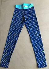 Nike Pro Women's Compression Bolt Print Running Leggings, Small UK 8-10, BNWT