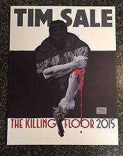 "TIM SALE ""THE KILLING FLOOR"" 2015 SKETCHBOOK Paperback Near Mint BiN"