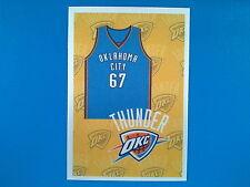 2009-10 Panini NBA Basketball n.226 Kit Team Oklahoma City Thunder