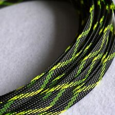 10mm Expandable Braided PET Cable Sleeving 3 weave High densely PC RC Modding