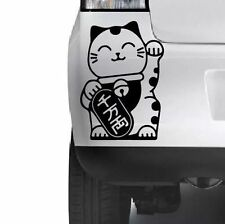 Japanese Lucky Cat Car Window Bumper Wall JDM VW VAG Novelty Vinyl Decal Sticker