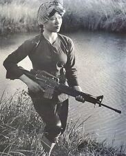 "Female Viet Cong Warrior 8""x 10"" Vietnam War Photo Picture 100"