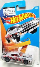 67 CHEVELLE SS 396 GREY - LEAP YEAR - HOT WHEELS DIE CAST CAR