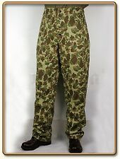 WWII US Marine Corps Frog Camo P42 HBT Utility Trousers (reversible) M (34)