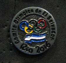 2016 RIO BRAZIL 31st Summer OLYMPIC NOC El Salvador Delegation Team pin