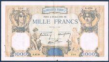 FRANCE - 1000 FRANCS C & MERCURE Fay n° 38. 35 du 30-3-1939. en TTB  R.6730 100