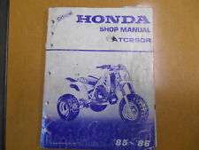 1985 - 1986 Honda ATC250R ATC250 Factory Service Shop Repair Manual
