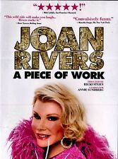 BRAND NEW DVD // Joan Rivers: A Piece of Work //  BIOGRAPHY // COMEDY //