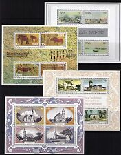 South West Africa 1975/78 Miniature sheets lot of 4 sheets