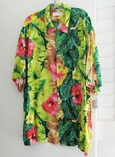 Jams World Mens Florabunda Rayon Short Sleeve Shirt M630RE Sz XL- NWT
