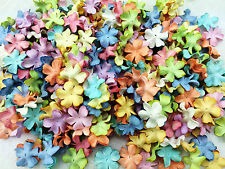 50 Mixed Pastal Flowers Mulberry Paper for Craft & D.I.Y