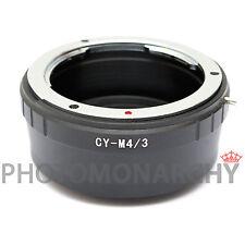 Anello adattatore obiettivo CONTAX YASHICA x MICRO 4/3 Olympus E-PL3 E-PL5 EPL-6