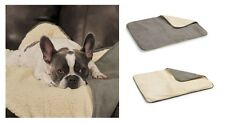 Thermapet Burrow Dog Blanket Thermal Lining Soft Suede Berber Reflects Body Heat