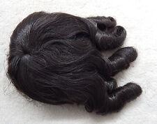 Puppenperücke von Rayher Korkenzieher Schillerlocken KU 22-25 cm - dunkelbraun