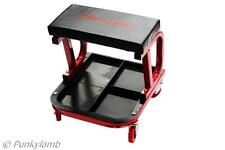 Mechanics Padded Creeper Trolley Seat Car Van Garage Tool Workshop Stool New