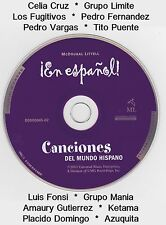 Canciones del Mundo Hispano Spanish Music CD Mix of Variety of Artists & Sounds