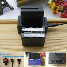 NP-F970 Battery+ quick charger For Sony NP-F960 NP970 HVR-Z5 DCR-TRV900 PD-150