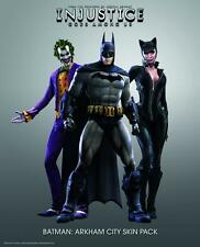Injustice: Gods Among Us - Batman Arkham City Character Skins DLC [Xbox 360] NEW