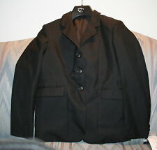 Tuff Rider Hunt Show Riding Coat Childrens 16 Black Jacket Kids