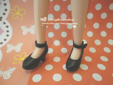 Doll Shoes ~ Takara Licca Black Color Heel shoes 1PAIR NEW
