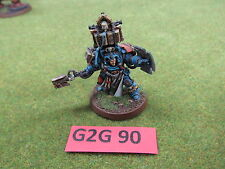Warhammer 40K well painted Finecast Space Marine Terminator Librarian