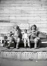 Knott's Berry Ghost Town Gold Trail Hotel - Prospector Bench - Vintage Negative