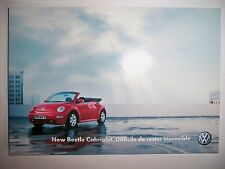 CPA Carte Postale VOLKSWAGEN New Beetle cabriolet (Coccinelle)