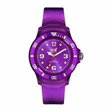 newstuffdaily: NIB ICE Jelly Collection Jelly Strap Unisex Watch - Purple etm