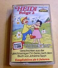Heidi Hörspielkassette MC Nummer Folge 2 - Karussell