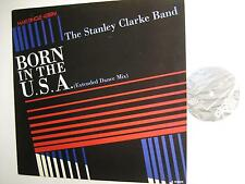 """STANLEY CLARKE """"BORN IN THE USA (EXTENDED DANCE MIX)"""""""