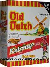 Old Dutch Potato Chips, Ketchup, 220 Grams/7.8 Ounces - 4 Pack