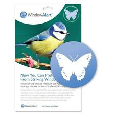 Window Alert 4 Butterfly Decals Protect Wild Birds