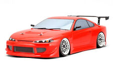 Yokomo 1/10 RC Car DRIFT BODY HKS HIPER NISSAN SILVIA S15 190mm SD-HKSB