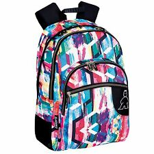 Radiant Double Large Backpack Rucksack Travel Shoulder Laptop Work Bag