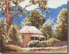 """""""Homestead from Bright, Victoria"""" cotton KIT  after Frank Mutsaers - 60 x 50cm"""
