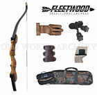 "Fleetwood Monarch Take Down Recurve Bow 50# 62"" Starter Package Right Handed"