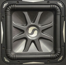 "KICKER Solo-Baric 12"" L7 Subwoofer # 08S12L74 In Carbon Fibre Kicker Ported Box"