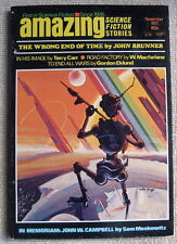 AMAZING SCIENCE FICTION November 1971 The Wrong End of Time by John Brunner