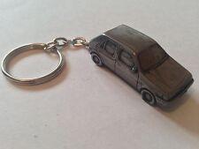 Ford Fiesta four door 1989 ref85 3D split-ring keyring FULL CAR