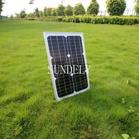 SUNDELY 20 W MONOCRYSTALLINE SOLAR PANEL 20 WATTS BATTERY CHARGER 12V PV DIODE
