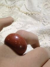 Nemesis Tribal Genuine Gold Sand Stone Solid Size 5 Ring