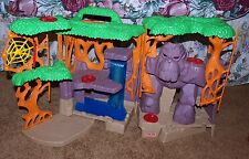 FISHER PRICE JUNGLE TREEHOUSE APE LIGHTS & MAKES NOISE
